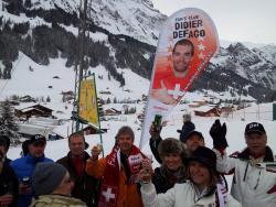 Le fan's club Didier Defago à Adelboden